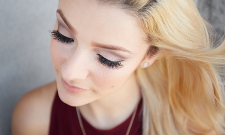 Full Set of Eyelash Extensions at Glamour Eyes (50% Off)