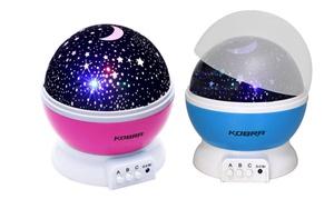 Kids' Rotating Star Projector Night Light