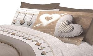 Completo letto in flanella