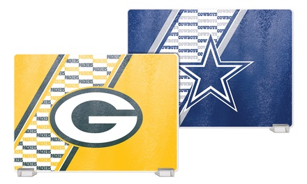 NFL Tempered Glass Cutting Boards