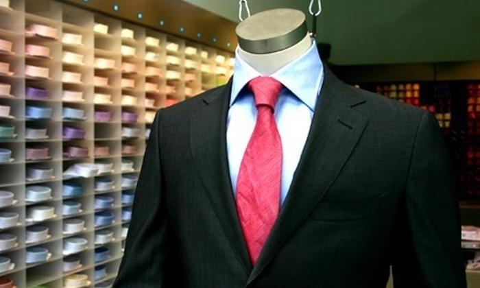 tailoredsuitsparis.com - Paris: Tailored Suits Paris : veste, pantalon en tissu 140's et housse de voyage option chemise haut de gamme dès 249 euros