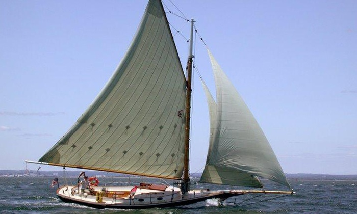 Come Sail Away Now - Fan Pier: One, Four, or Six 2-Hour Traditional Sailing Lessons on Boston Harbor from Come Sail Away Now (Up to 50% Off)