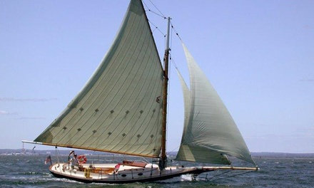 One, Four, or Six 2-Hour Traditional Sailing Lessons on Boston Harbor from Come Sail Away Now (Up to 53% Off)