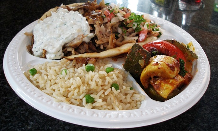 Farm Grill & Rotisserie - Newton: $14 for $20 Worth of Greek Cuisine at Farm Grill Rotisserie