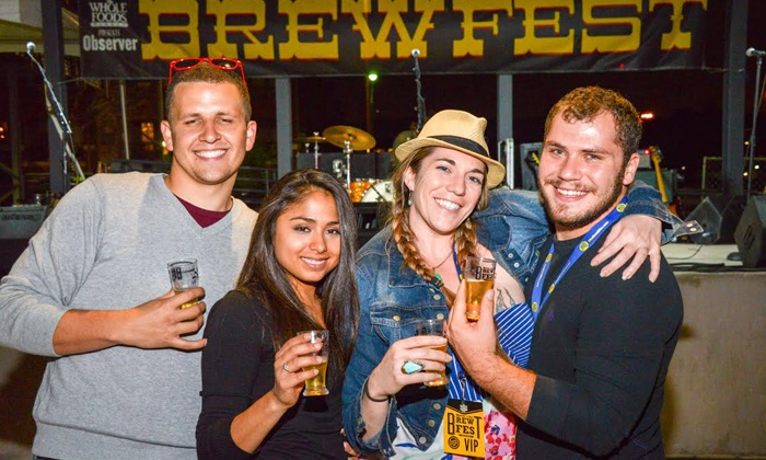 Dallas Observer BrewFest - Dallas Farmers Market: $30 for General Admission for One with Beer Samples at Dallas Observer BrewFest ($45 Value)