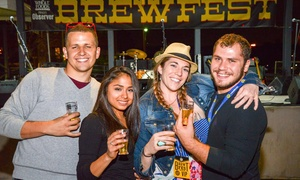 Dallas Observer BrewFest: $30 for General Admission for One with Beer Samples at Dallas Observer BrewFest ($45 Value)