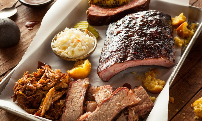 SmoQ - SmoQ: Memphis Sampler Barbecue Meal for Two, Four, or Six at smoQ (42% Off)