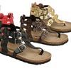 Coco Jumbo Girls' Berta-13 Gladiator Sandal