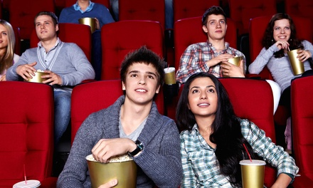 Movie and Popcorn for 2 or 4 Adults or 2 Adults and 2 Kids at Apple Cinemas Barkhamsted (Up to 50% Off)