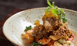 Prequel: Pop-Up Restaurant Dinner Experience for Two or Four with Drinks, Apps, and Dessert at Prequel (Up to 32% Off)