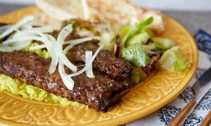 Shish Palace - Taylor: Mediterranean Food for Two or Four or More at Shish Palace - Taylor (Up to 40% Off)