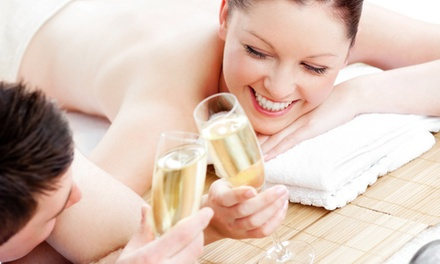 Champagne, Strawberries, and Sauna or Hot-Tub Time for Two at Spa at Henderson Castle (Up to 46% Off)