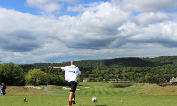Cabin Greens Golf Course - South Buffalo: Up to 35% Off 18-Hole Round of FootGolf at Cabin Greens Golf Course