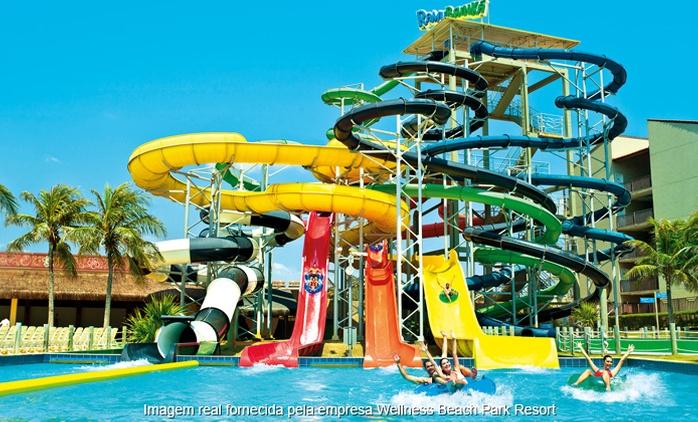 Wellness Beach Park Resort: 3, 4, 5 ou 7 noites para 2 + meia pensão ou café da manhã (opções em feriados)