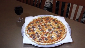 Sammy Perrella's Pizza & Restaurant: Pizza for Two or Four at Sammy Perrella's Pizza & Restaurant (47% Off)