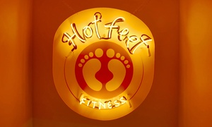 Hot Feet Fitness: Four Weeks of Membership and Unlimited Fitness Classes at Hot Feet Fitness (70% Off)