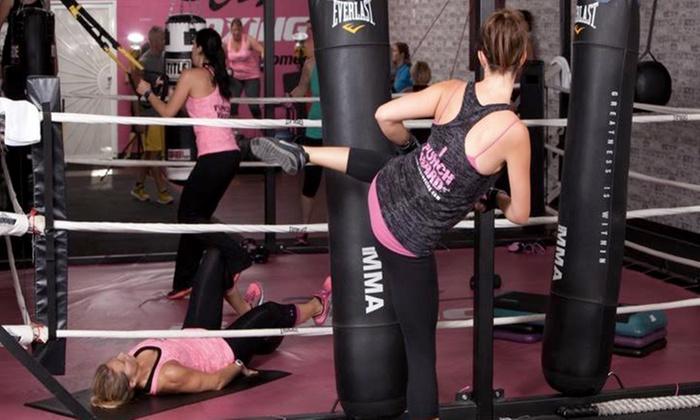 Jabz Boxing. Fitness for Women- North Scottsdale - Scottsdale-Thunderbird Plaza: $47 for One Month of Unlimited Boxing Fitness Classes at Jabz Boxing Fitness for Women ($124 Value)