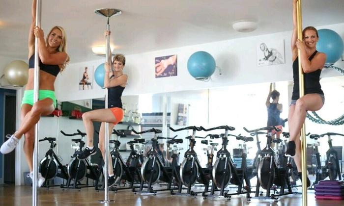 UNLEASHED Women's Fitness Studio - UNLEASHED Women's Fitness Studio: Up to 88% Off Basic Level 1 Pole classes at UNLEASHED Women's Fitness Studio