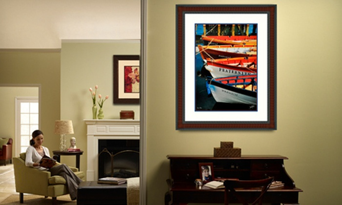 FastFrame Charlottesville - Charlottesville: Custom Framing at Fast Frame Charlottesville (61% Off). Two Options Available.