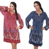 Embroidered Sweater Dresses