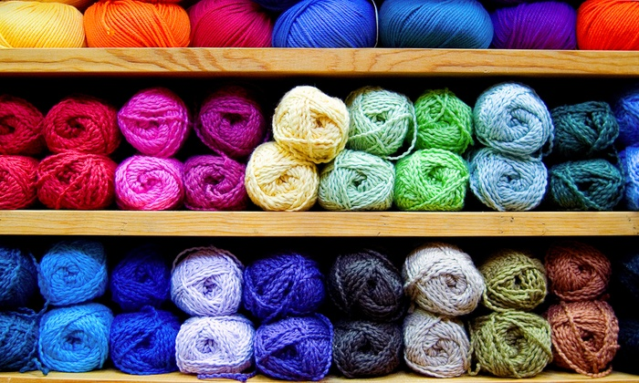 Hillcreek Yarn Shoppe - Hillcreek Yarn Shoppe: Knitting and Crochet Classes, Yarn, and Craft Supplies (Up to 50% Off). Three Options Available.