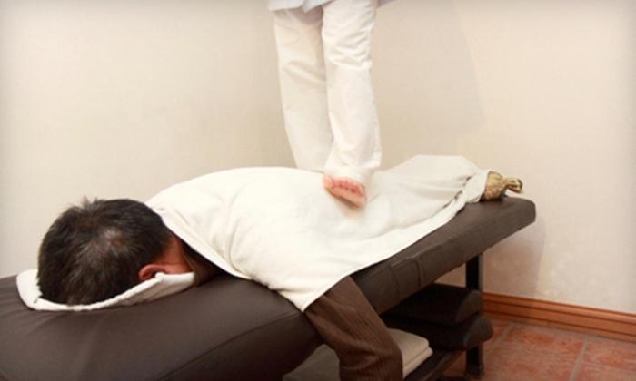 Ottawa Foot Balance - Ottawa: Up to 70% Off Thai Massages at Ottawa Foot Balance