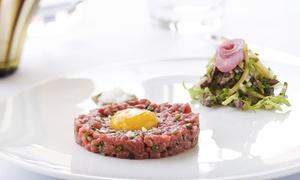 Restaurant sur le green: Apéritif et steak tartare pour 2 personnes à 24,90 € au Restaurant sur le green