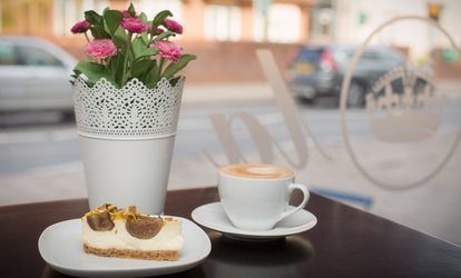 image for Hot Drink and Cake for Two or Four at Bistro Viola (Up to 53% Off)