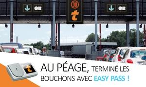Easytrip: Télépéage : gagnez du temps aux barrières de péage avec le badge Liber-t Easytrip à 6 € (63% de réduction)