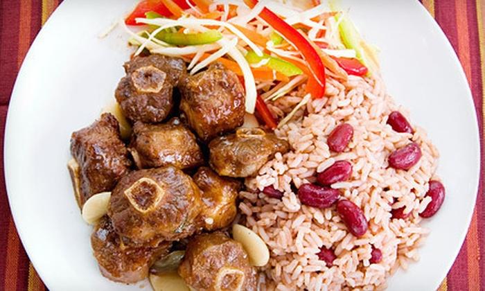 Caribbean Pot - Midlothian: Caribbean Cuisine at Caribbean Pot (Half Off). Two Options Available.