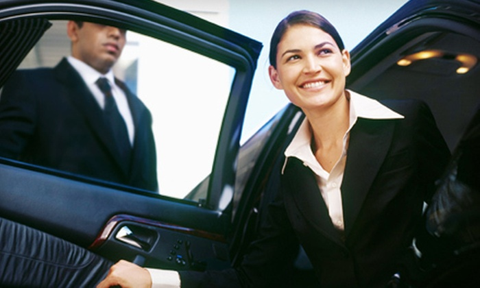 Boston Best Limo - Boston: One-Way or Round-Trip Logan Airport Shuttle for Two or Four or $50 for $100 Worth of Services from Boston Best Limo