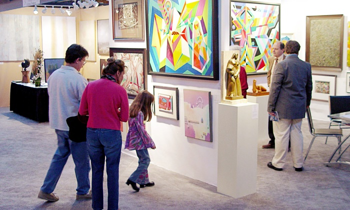 Boston International Fine Art Show - South End: Boston International Fine Art Show at The Cyclorama at the Boston Center for the Arts on November 22–24 (Up to Half Off)