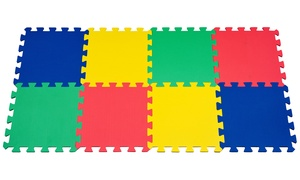 Multicolored Interlocking Foam Exercise Mat (1- or 2-Pack) at Multicolored Interlocking Foam Exercise Mat, plus 6.0% Cash Back from Ebates.