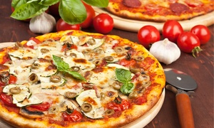 DeVinci's : Italian Cuisine, Pizza, and Drinks at DeVinci's (Up to 45% Off). Two Options Available.