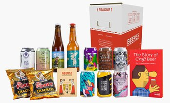 10 Craft Beers Gift Box