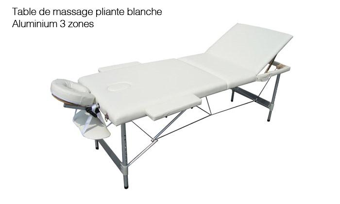 Table de massage professionnelle groupon shopping - Table de massage professionnelle pliante ...