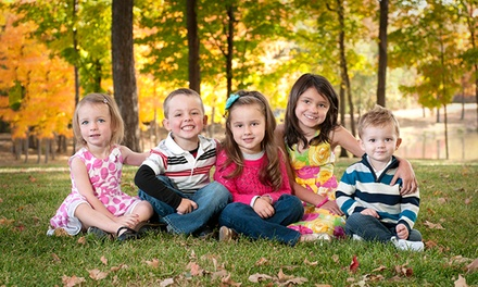 $39 for a Family or Children's Photography Package with Prints and Digital File ($364 Value)