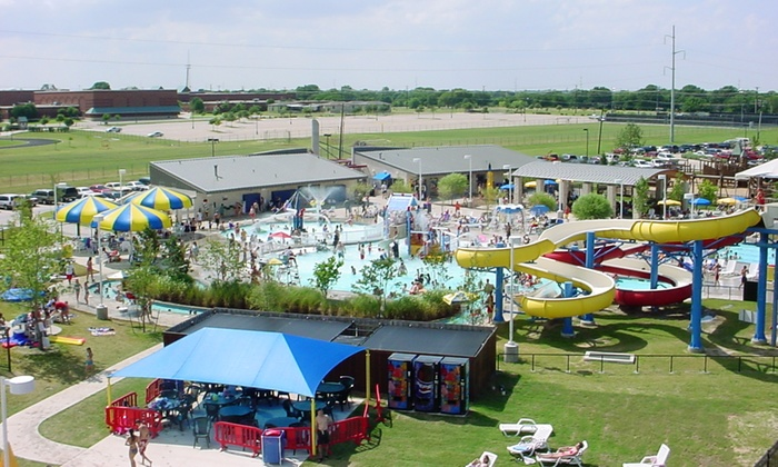 The Wet Zone - Pecan Grove Park: Water-Park Entry and Hot Dogs, Chips, and Beverages for Two, Four, or Six at Wet Zone (Up to 50%Off)