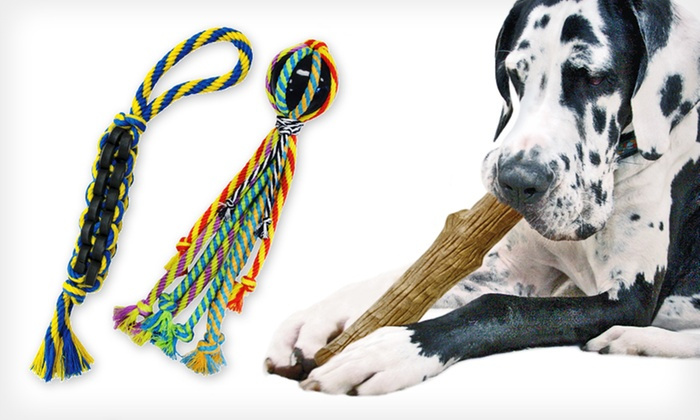 Petstages Dog Toys: Petstages Dog Toys and Chew Toys (Up to 65% Off). Eight Options Available.