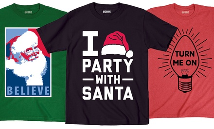 Men's Holiday Graphic T-Shirts