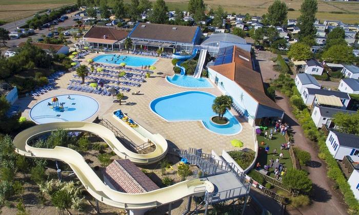 Nuits En Camping Avec Piscine Chauffée En Vendée Groupon Getaways - Camping la tranche sur mer avec piscine