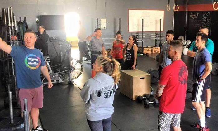 CrossFit San Gabriel Valley - Bonita: One Month of Unlimited CrossFit Classes from CrossFit San Gabriel Valley (65% Off)