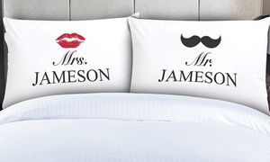 60% Off Personalized Couples Pillowcases at Monogram Online, plus 9.0% Cash Back from Ebates.