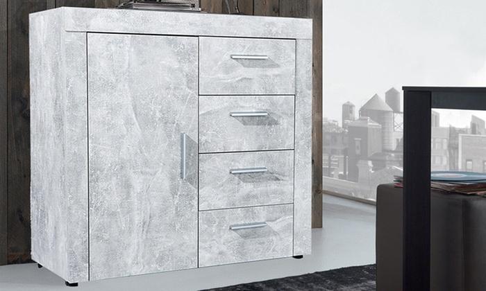 Credenza Moderna Groupon : Mobili effetto marmo groupon goods