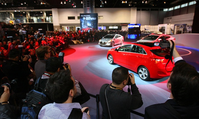 Chicago Auto Show - South Loop: $15 for Social Media Preview Day at Chicago Auto Show ($25 Value)