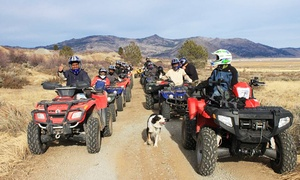 Explore! Sierra Touring Company: Two- or Three-Hour Guided ATV Excursion for One from Explore! Sierra Touring Company (Up to 24% Off)