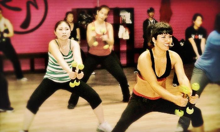 Zumba Latin Fitness Ztudio - Zumba Fitness BC: 10 or 20 Classes at Zumba Latin Fitness Ztudio (Up to 58% Off)