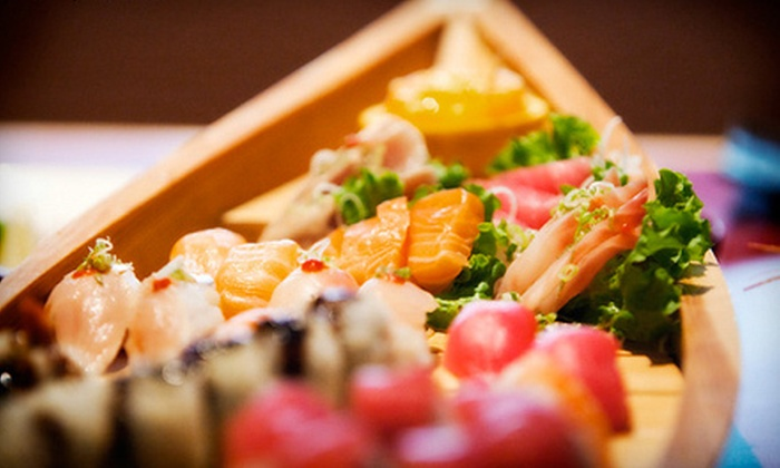 Sakura Ichi - Downtown,Central District: $25 Worth of Sushi and Japanese Food