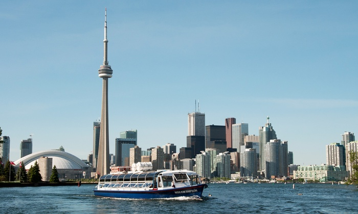 Toronto Harbour Tours - Downtown Toronto: C$14 for Boat Tour of Toronto Harbour and Islands from Toronto Harbour Tours (C$29.32 Value)