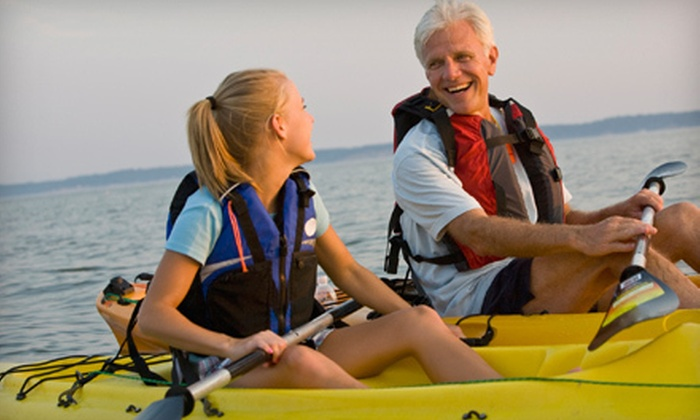 Eagle's Neck Paddling Company  - Northfork: Morning or Evening Kayak Tour for One or Two from Eagle's Neck Paddling Company in Southold (Up to 55% Off)